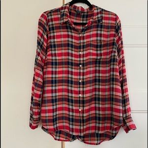 Lucky Brand Duo Fold Plaid Shirt